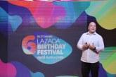 ลาซาด้า ทุบสถิติในมหกรรมช้อปปิ้งออนไลน์ ฉลองครบรอบ 6 ปีในประเทศไทย